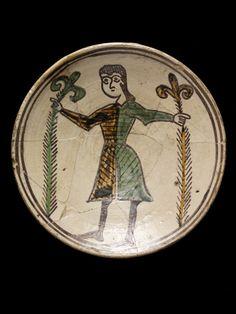 Assiette - 1250-1300 - Italie du Sud