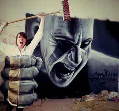 Jeaze street artist