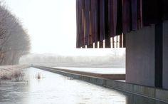 Crematorium Hofheide in Belgium by Coussée & Goris architecten and RCR Arquitectes