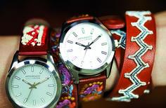 Des montres signées Antik Batik pour Louis Pion - Femme Actuelle