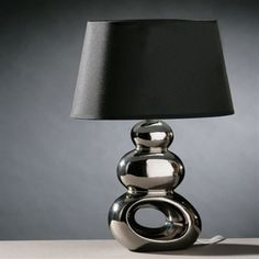 Black Table Lamps for Nightstand