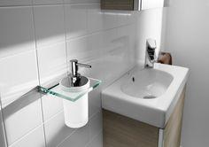 Nuvoa, to najnowsza kolekcja akcesoriów łazienkowych by ROCA, zaprezentowana na ISH 2013. Jej twórcy określają ją jako fuzję szkła z metalem pośród owalnych kształtów współgrających z ostrymi kątami. Nowoczesny design z pewnością nada  elegancki a zarazem minimalistyczny wydźwięk każdej przestrzeni łazienkowej.