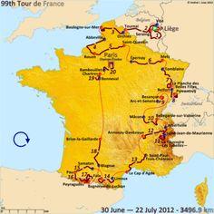 Drive along the Tour de France route Paris Rouen, Paris 3, Paris France, Grand Tour, Ballon D'alsace, Paris Champs Elysees, Winning Time, Saint Quentin, Chamonix