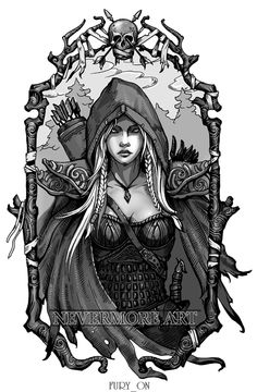 Drow ranger by on DeviantArt Character Portraits, Character Art, Character Design, Defense Of The Ancients, Dota 2 Wallpaper, Dnd Art, Dnd Characters, World Of Warcraft, Aesthetic Art