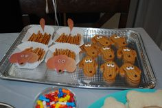 ideas from my daughters dachshund themed birthday party!  https://creativetracksblog.wordpress.com/2015/07/01/a-dachshund-themed-birthday-party/
