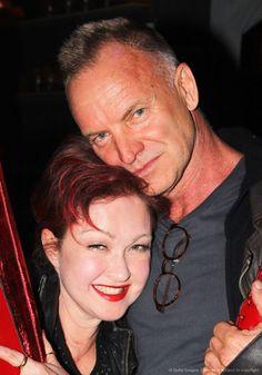 Cyndi Lauper and Sting