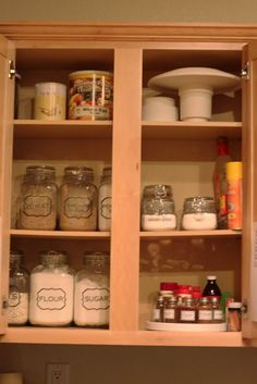 Organized kitchen, and the rest of the 21 day to organized challenge.