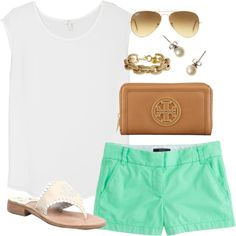 Mint, created by classically-preppy on Polyvore
