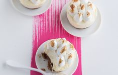 Appelsiinijuustokakut marengilla/Orange cheese cake with meringue topping, Kotiliesi.fi
