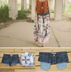 upcycling old jeans