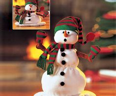 Snowman christmas decors