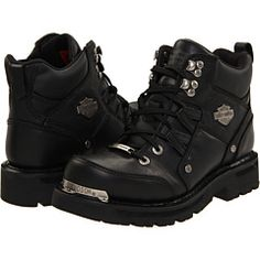 Harley Davidson Tracey boots I will have these! Bike will be done in the spring - these will make a great accessory! (Jana) Harley Davidson Photos, Womens Harley Davidson Boots, Harley Davidson Street Glide, Harley Boots, Biker Gear, Motorcycle Gear, Motorcycle Accessories, Aesthetic Grunge Outfit, Doc Martens Boots