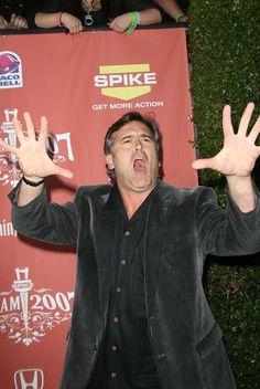 Bruce Campbell - Spike TV's Scream 2007 - Arrivals
