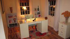 Dream Office..#SparklyBlonde