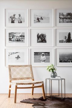 A smart renovation took this Camps Bay home from old-fashioned double storey to streamlined beach bungalow with sea and mountain views. Gallery Wall, Wall, Modern Farmhouse, Renovations, Inspiration, Collin House, House, Home Decor, Love Decor