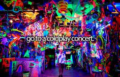 #1 Go to a coldplay concert