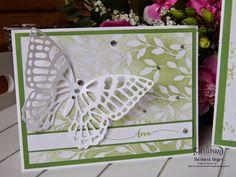 Barbaras Kreativ-Studio : Frühlingskarten mit Schmetterlingen