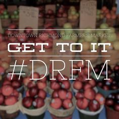 Swing by grab a #hotdog and stroll through our local farmer's market. #theartisanrocks #drfm