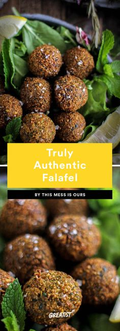 9. Truly Authentic Falafel #greatist https://greatist.com/eat/falafel-recipe-for-every-type-of-eater