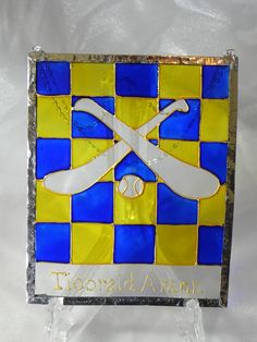 Items similar to Tipperary Hurling G.A Window decoration on Etsy My Etsy Shop, Windows, Decorations, Gallery, Unique Jewelry, Frame, Handmade Gifts, Check, Vintage