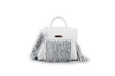 Azzurra Gronchi spring/summer bags collection, mini India white back