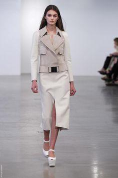 calvin klein resort '13: love the jacket