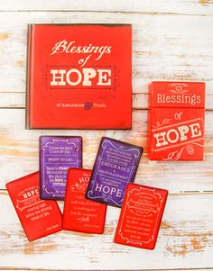 Blessings of Hope Christian Christmas Gift, Christmas Gifts, Same Day Delivery Service, Gift Of Faith, Blessings, Blessed, Xmas Gifts, Christmas Presents