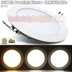 20W LED Can light Fixture - SAMSUNG LEDs Inside