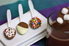 Chocolate Covered Spoons!