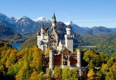 قلعة نويشفانشتاين - القلعة الخيالية في ألمانيا