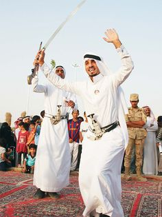 May the arts in the Arabian Peninsula honor the Lord of Heaven. May the people dance unto the King of the universe.