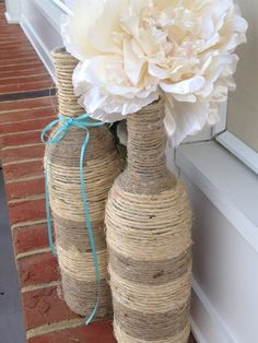 Julieta sin Romeo: Ideas para decorar con cuerda natural