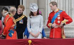 Duque de Edinburgh - Principe Harry - Duques de Cambridge