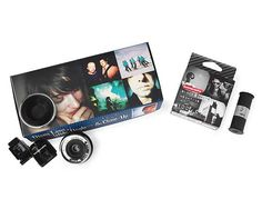 DIANA CAMERA ACCESSORIES | Dianas Cameras Accessory, Lens Kit, Wide-Angle Lens, Close-Up Lens, Black and White 120 Film | UncommonGoods