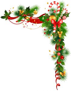 Christmas Corner Borders Images Pictures Becuo Stock Image