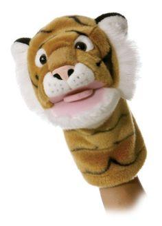 "Tiggy Tiger Puppet 10"""