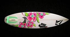 Coco Ho's surfboard! Gorgeous design!