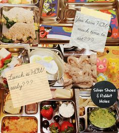 Silver Shoes & Rabbit Holes: Happy Happy Lunch Box: Too Little Time