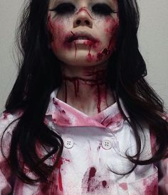 If your a makeup artist, Halloween is everyday for you, you don't need a reason to wear Halloween makeup!!