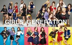 GIRLS' GENERATION by LESLIE KEE