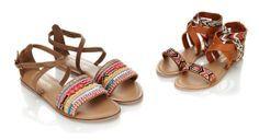 Sandales tressées et sandales ornées de perles de rocaille Accessorize Printemps Eté 2014