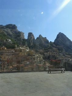 A wonderful place....Castelmezzano in the south of Italy