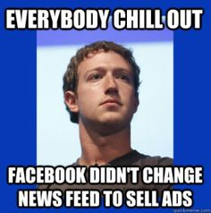 Killing Rumors With Facts: No, Facebook Didn't Decrease Page Feed Reach To Sell More Promoted Posts. See Robert Scoble comments