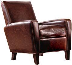 Stickley Furniture: Eldorado Leather Chair