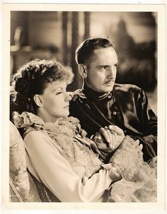 """GRETA GARBO,  FREDRIC MARCH in """"Anna Karenina""""1935"""