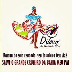 Se ele é baiano agora Que eu quero ver Dançar catira no azeite de dendê Eu quero ver Os baiano da Aruanda Trabalhando na Umbanda Pra quimbanda não vencer Eu quero ver Os baianos da Aruanda  Baiana da saia rendada Seu tabuleiro tem axé A Baiana tá requebrando Oi quando dança no candomblé Oh Bahia, Bahia de N. Sr. Do Bonfim Oh, Bahia, pede a Oxalá por mim  #umbandasaber #umbanda #baiana #sairendada #axê #linhasbaianos #alegriatotal #comecarsemana #Deusguiaosqueprecisa #povobom