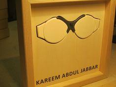 Famous Glasses: KAREEM ABDUL JABBAR