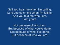 One of my favorite Christian songs, ever. <3