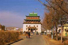 Mongolia - Największa światynia w Mongolii