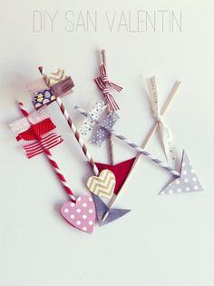 Cómo hacer flechas de cúpido (o tunearlas para hacer varitas mágicas, ¿no?)